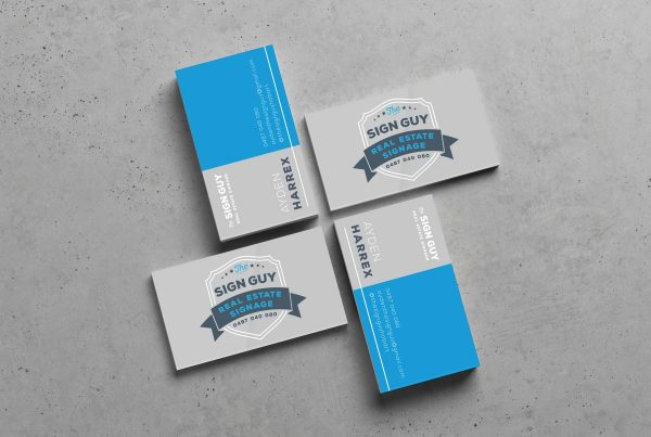 The Sign Guy Business Card Design